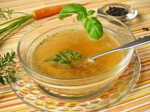 suppe für entschlackungskur