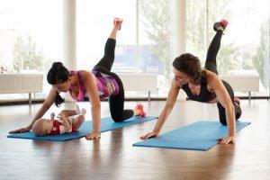 übung zum abnehmen nach schwangerschaft mit baby