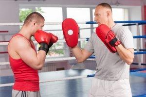 gute chemie zwischen boxer und coach