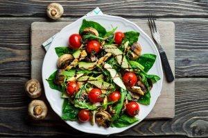 Salat als Gericht zum Abnehmen