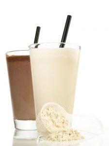 diät shake mit eiweißpulver