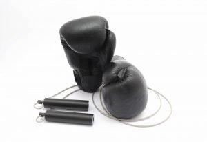 box zubehör springseil und handschuhe
