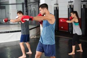 deckung lernen beim boxen