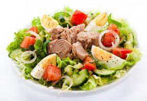 thunfisch Salat zum Abendessen