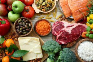 mit den richtigen Lebensmittel zu guter Gesundheit