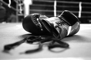 boxing handschuhe in Schwarz