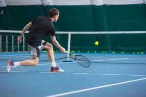 Knieprobleme beim Tennis