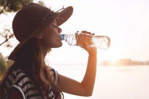 Wasser als Durstlöscher