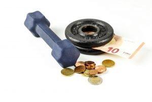 Fitness-Abo Symbolbild
