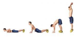 Burpees Übungen richtig ausführen