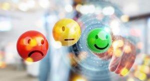 Smileys für verschiedene Erfahrungen mit der Metabolic Diät