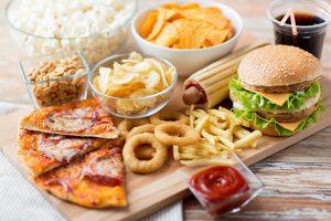stark fetthaltige Lebensmittel