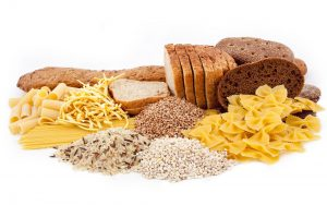 verschiedene Kohlenhydrate