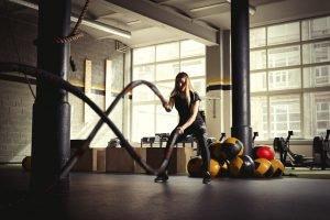 Bewegung mit Ropes