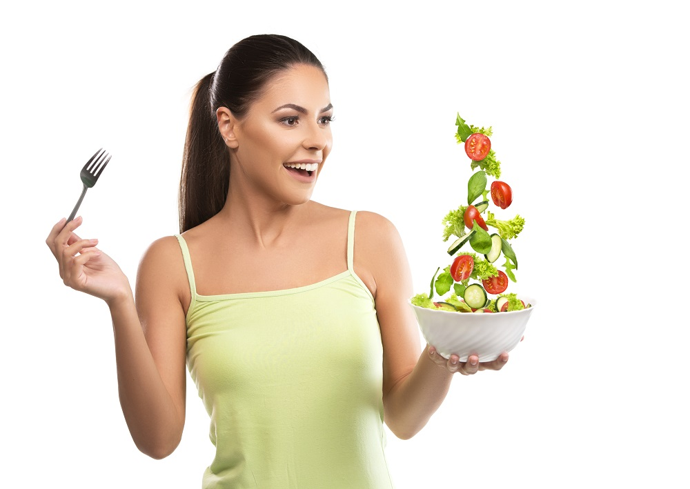 Salate zum Abnehmen
