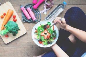 Sport und Ernährung als gesunde Alternative