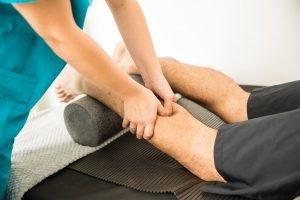Wadenmassage gegen Schmerzen