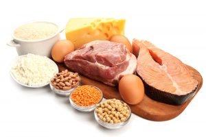 Lebensmittel mit vielen Aminosäuren