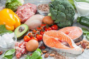 Lebensmittel für Low Carb