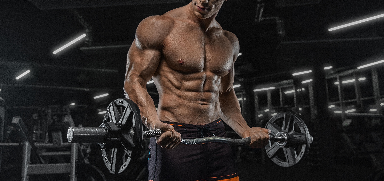 Bodybuilder Hypertrophietraining