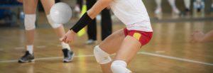 Volleyball-Spiel