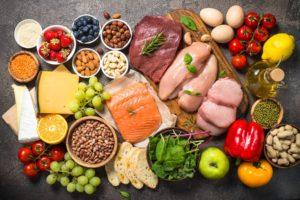 Ausgewogenen Ernährung fürs Fitness