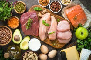 lebensmittel für eine ausgewogene ernährung